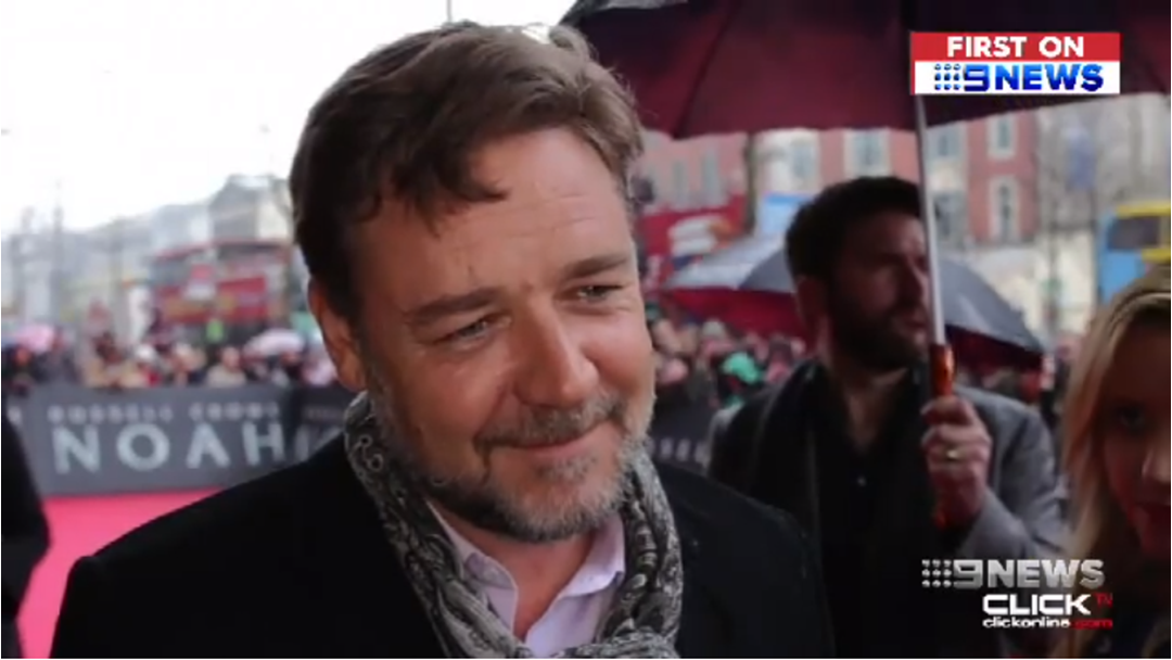 Have You Seen Russell Crowe on The Border?