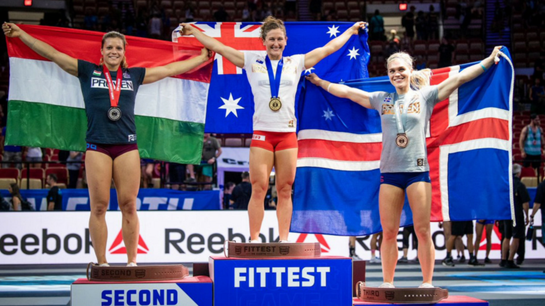 Gladstone Local Tia-Clair Toomey Crowned Fittest Woman On Earth