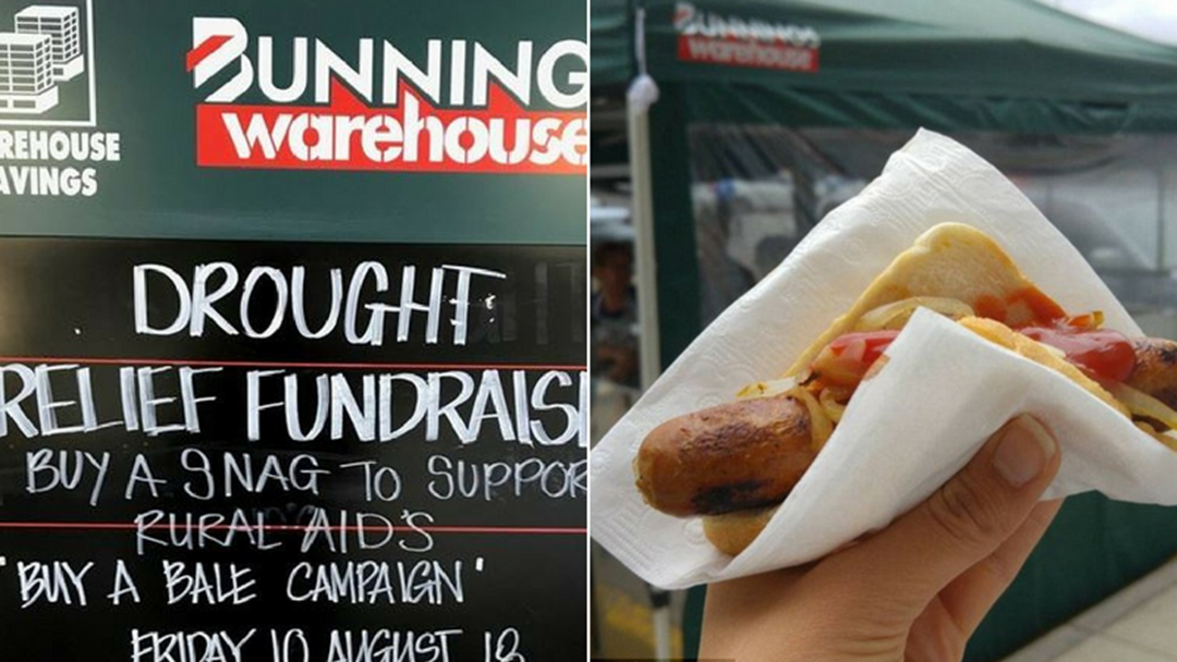 The Nationwide Bunnings Sausage Sizzle For Rural Aid