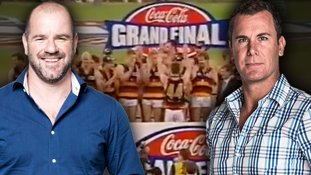 Roo And Duck Get Stuck Into Each Other Over The 1998 Grand Final