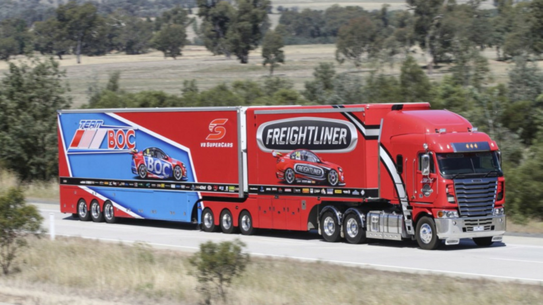 Can Matt Reverse Park The Brad Jones Racing Semi-Trailer Transporter?