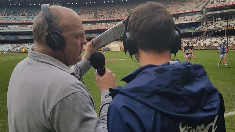 Article heading image for Billy Got Sent Down To The Boundary To Interview Corey Enright