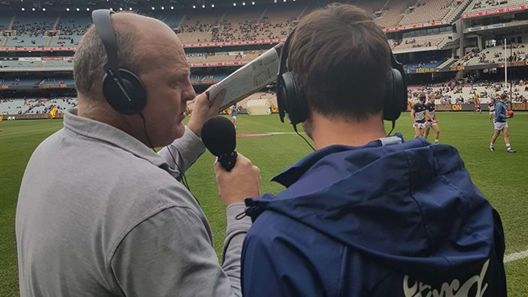 Billy Got Sent Down To The Boundary To Interview Corey Enright