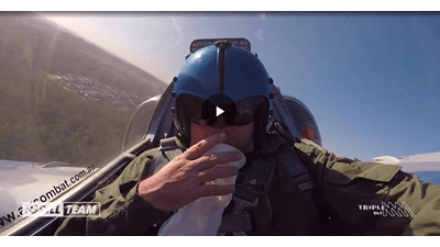 WATCH | We Put Gussy In A Fighter Jet
