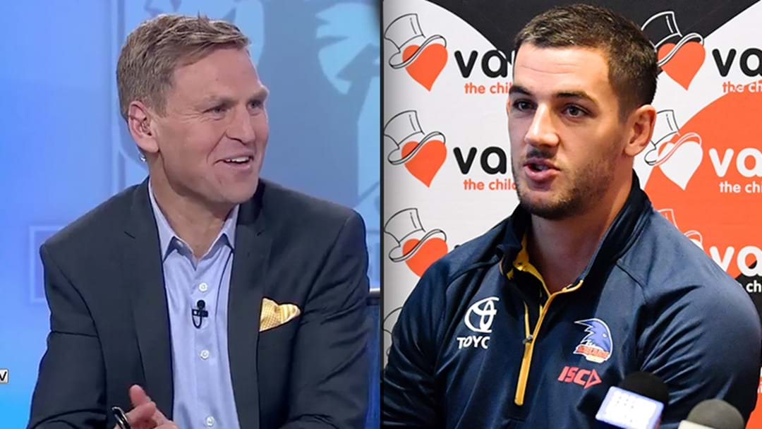 Billy On Tex Walker's Hilarious Sunday Footy Show Question About Kane Cornes