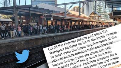 Sydney Trains Slammed By Commuters After Saturday's Chaos