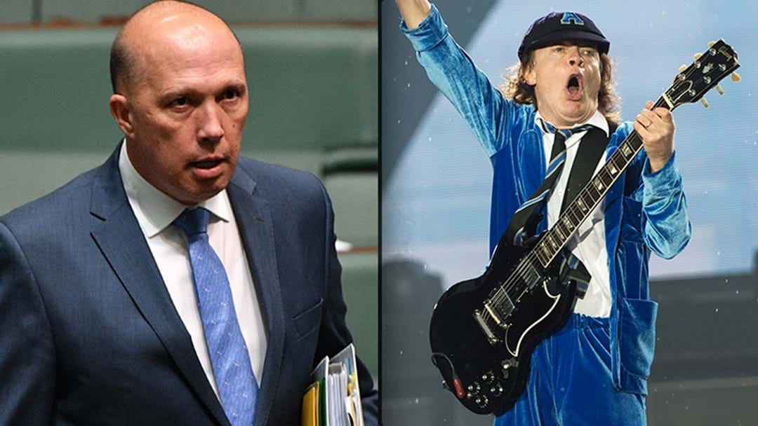 Can Peter Dutton Name His Favourite AC/DC Song?