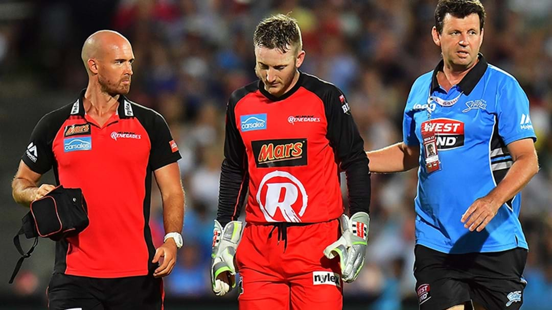 Peter Nevill Ruled Out For Remainder Of BBL Season
