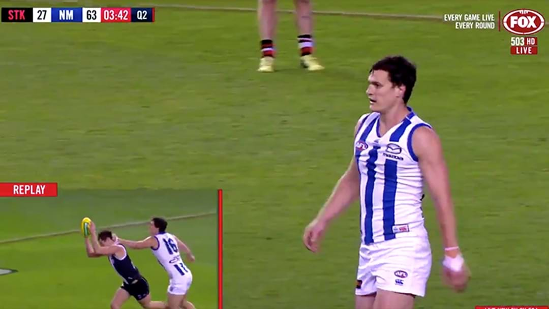 Kangaroo Scott Thompson Has Been Reported for Striking Jack Steele