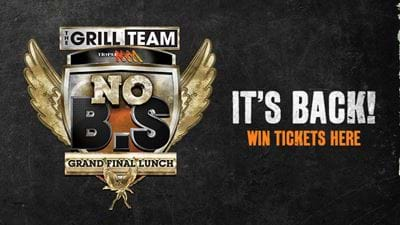 WIN Tickets To The No BS Grand Final Lunch 2018
