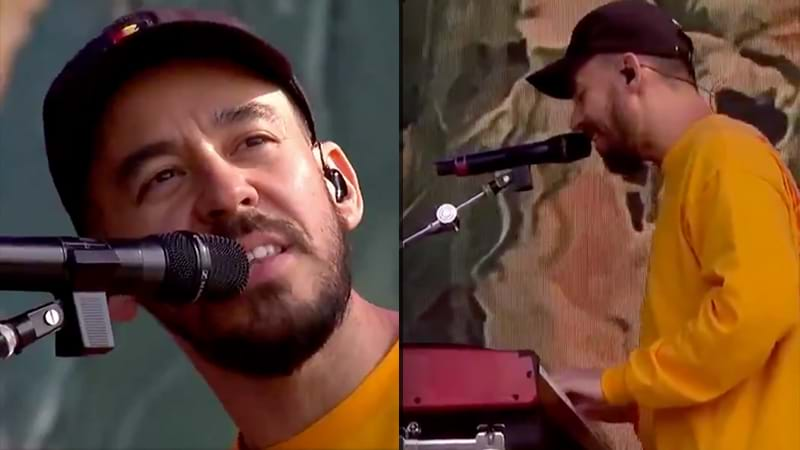 Article heading image for Mike Shinoda's Emotional Tribute To Chester Bennington At Reading Festival