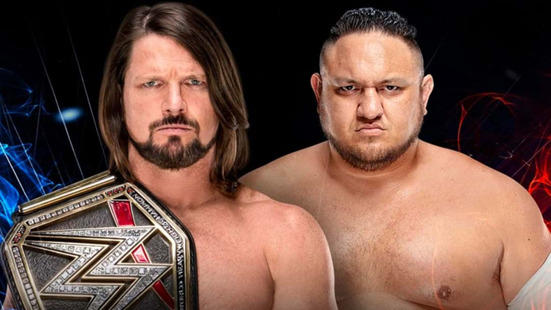 AJ Styles And Samoa Joe Will Have A Summerslam Rematch At WWE's Super Show-Down