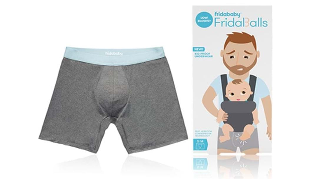Jocks That'll Stop Your Kids Kicking You In The Nuts Are A Real Thing