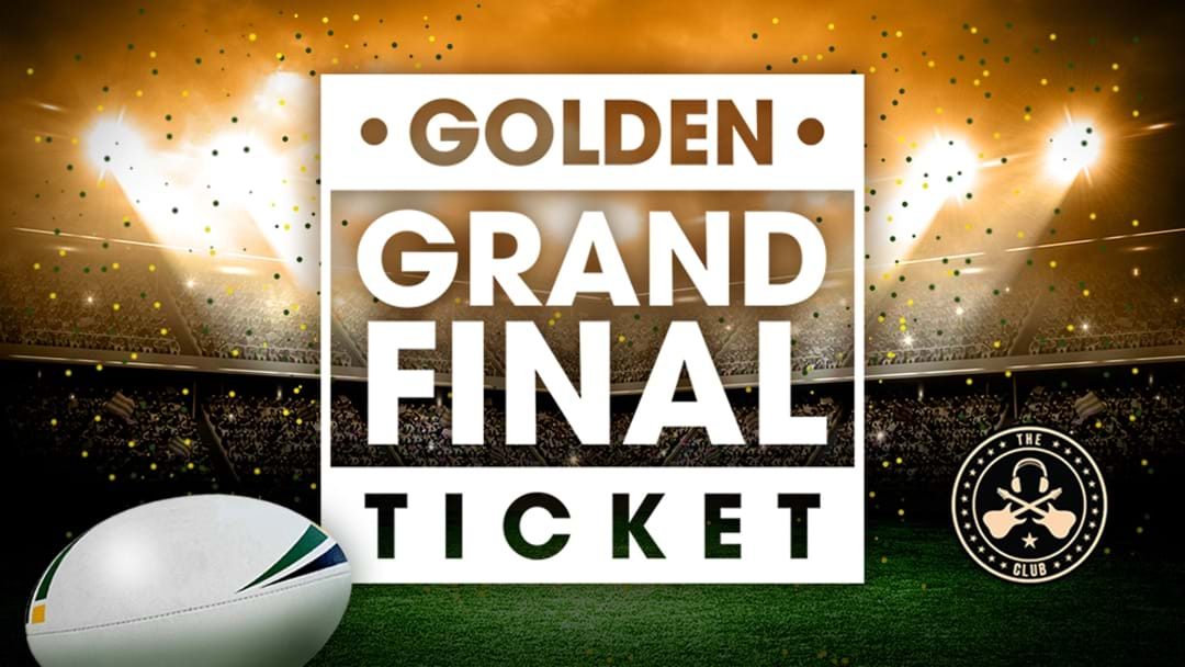 Golden Grand Final Ticket