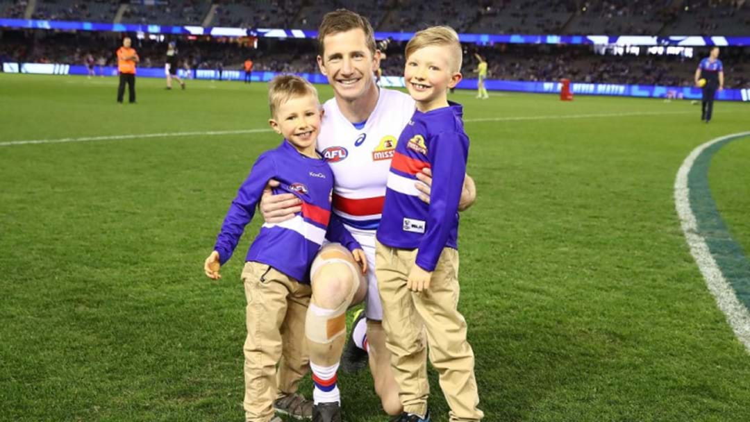 Here's How The Footy World Commemorated Father's Day