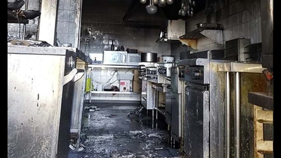 Parade Hotel kitchen severely damaged by fire
