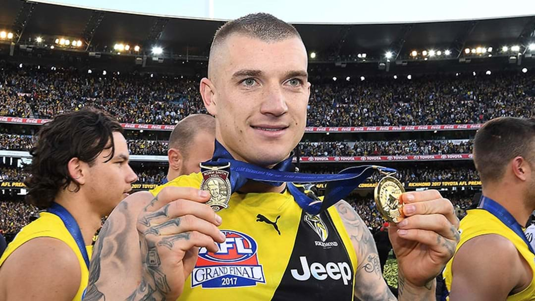 The AFL Has Revealed Who Will Hand Out The Awards At This Year's Grand Final