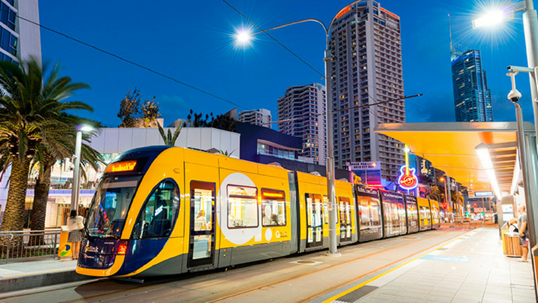 The Gold Coast Light Rail Extending To Burleigh