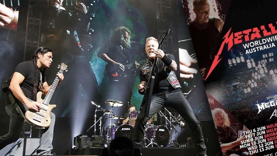 Some Dill Made A Fake Metallica Tour Poster