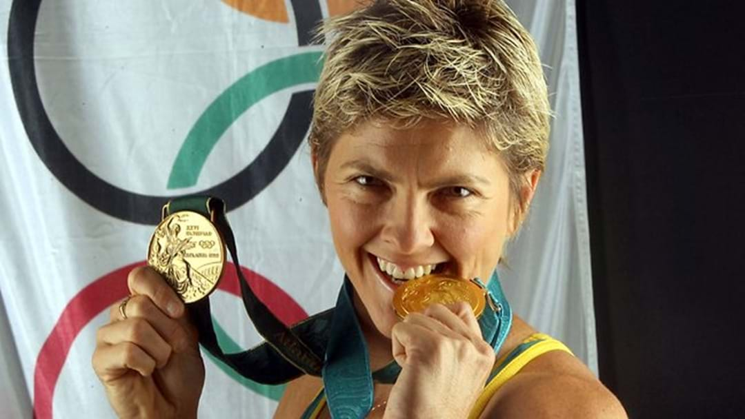 Gold Medalist inspires others to reach their goals