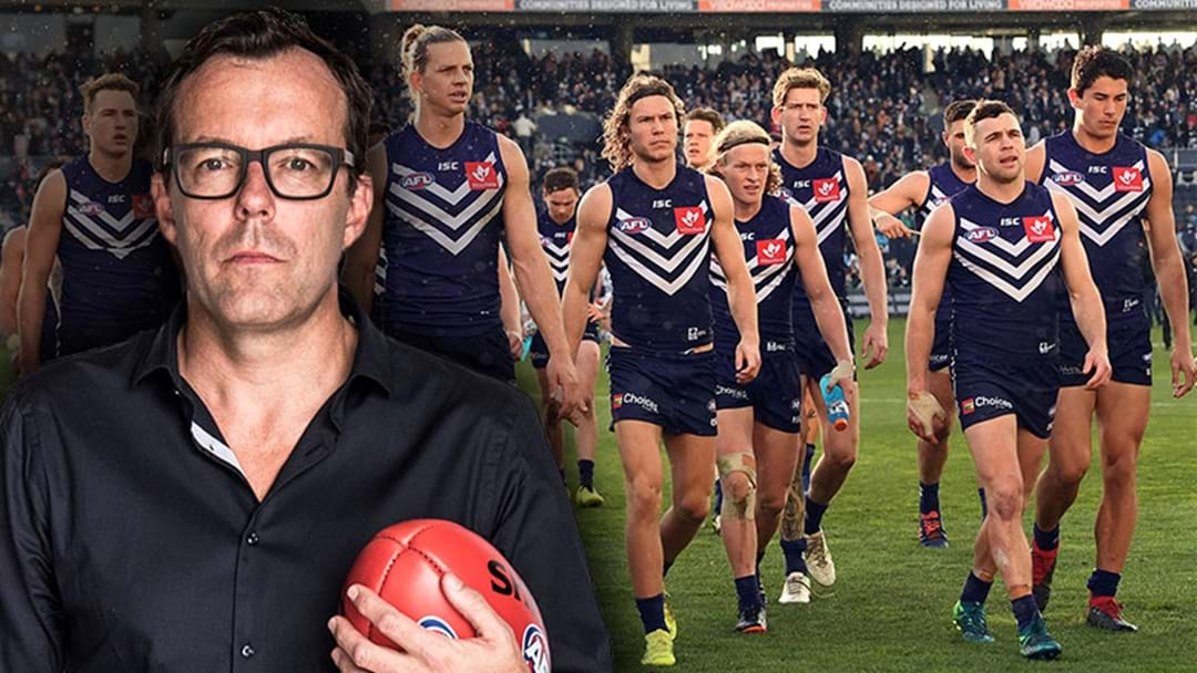 "LISTEN | Damian Barrett Says That Fremantle Is ""Not A Happy Place"""