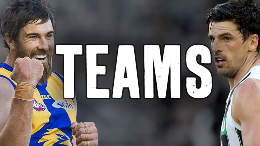 AFL Teams - Finals Week One, 2018