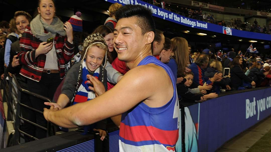 Lin Jong Signs Contract Extension With Western Bulldogs