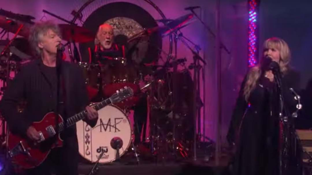 WATCH: The First Live Performance From The New Fleetwood  Mac With Neil Finn