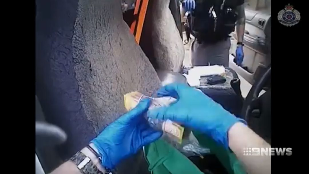 POLICE FOOTAGE | Watch On As Police Shut Down Townsville Drug Labs