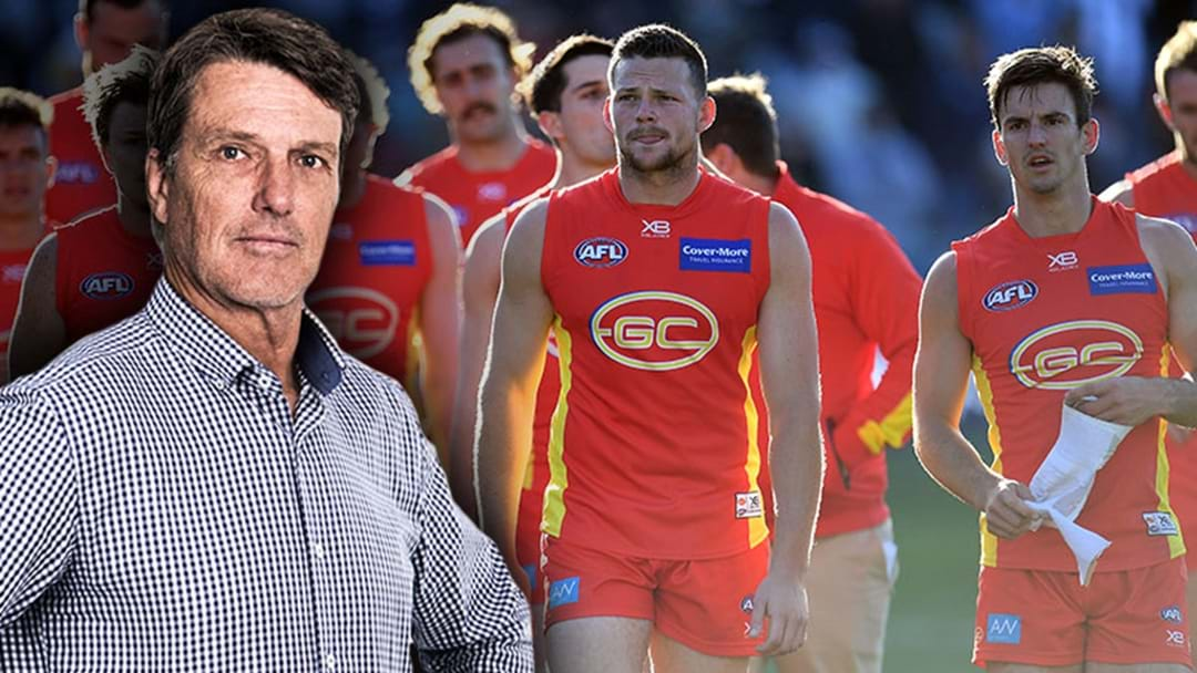 Paul Roos Whacks Gold Coast's List Building Strategy
