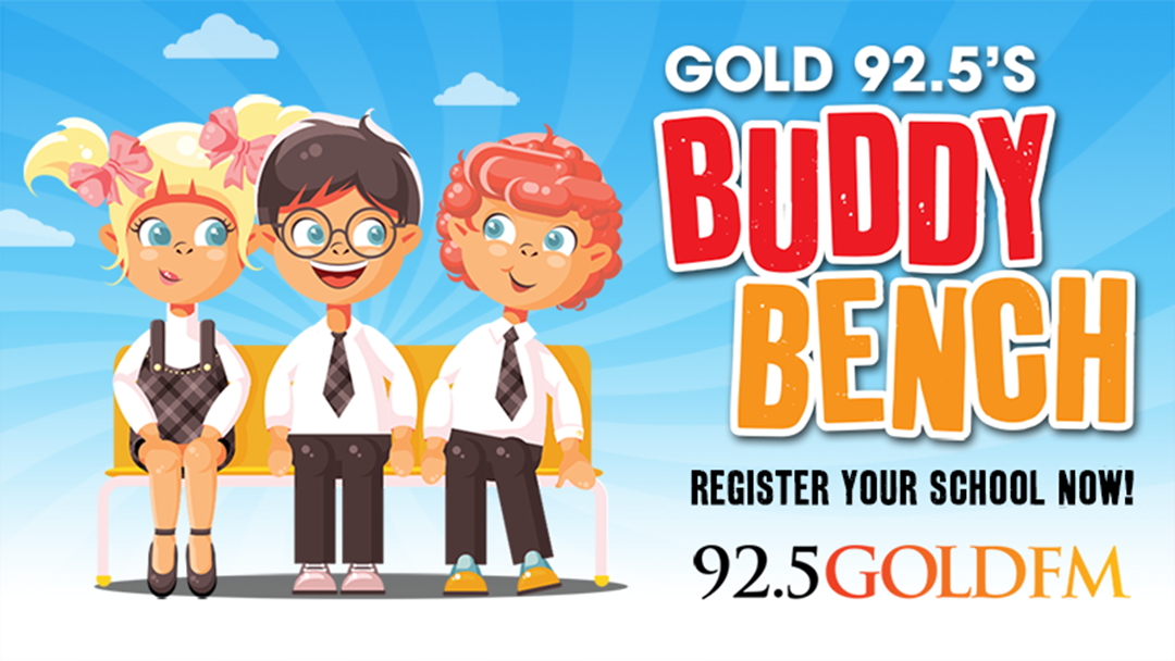 Gold 92.5's BUDDY BENCH