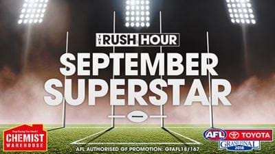 The Rush Hour's September Superstar!