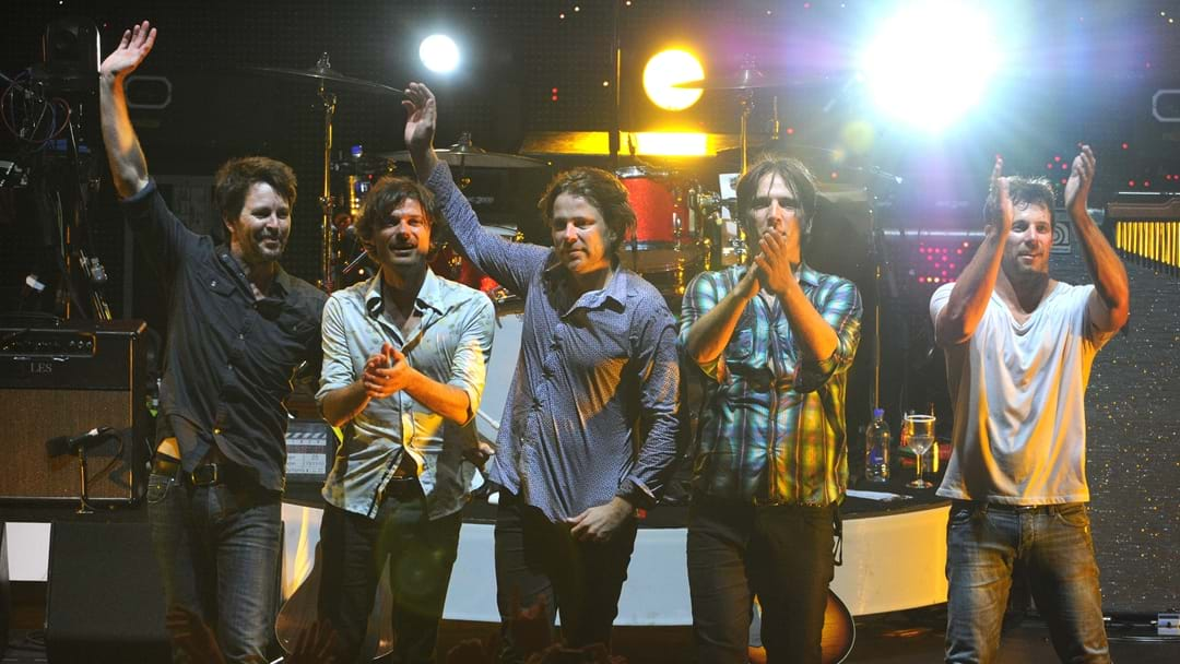 Powderfinger Reunite At Triple M To Celebrate The 20th Anniversary Of Internationalist