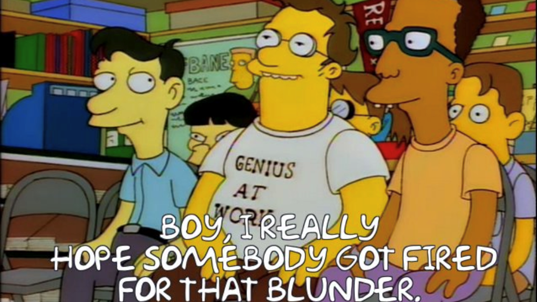 """The 20-Year-Old """"The Simpsons"""" Stuff-Up We All Somehow Missed"""