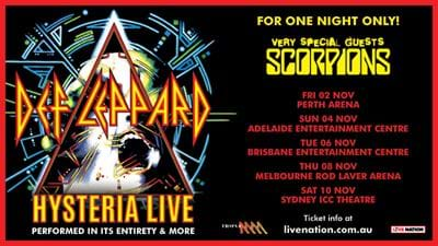 Don't Miss Out On Free Def Leppard Tickets!