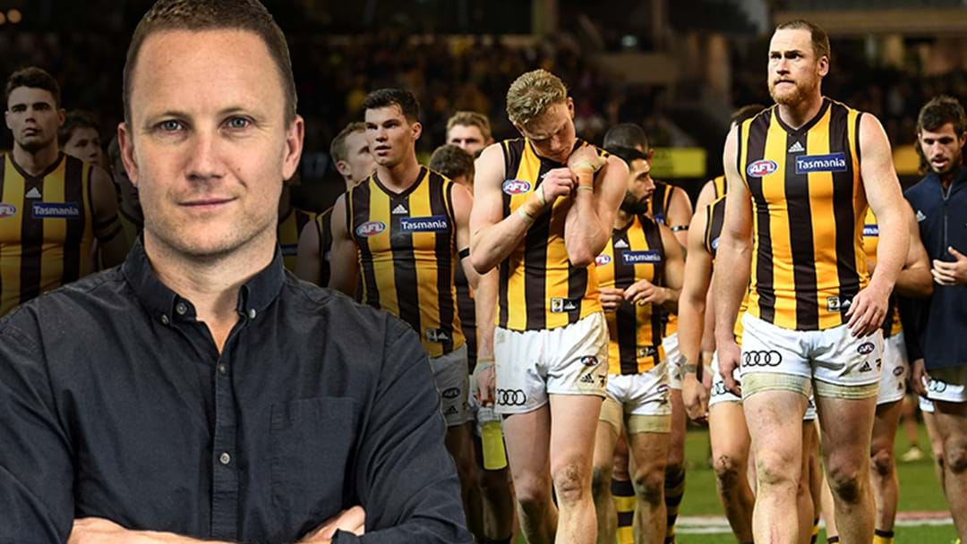 "LISTEN | Nathan Brown Says Hawthorn ""Won't Fear"" Anyone Despite Last Night's Loss"