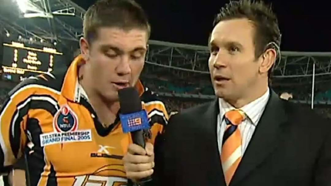 LISTEN | Chris Heighington's Hilarious Yarn About That 'Infamous' Interview With Matty Johns