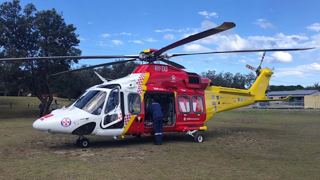 Woman Rescued At Remote Beach