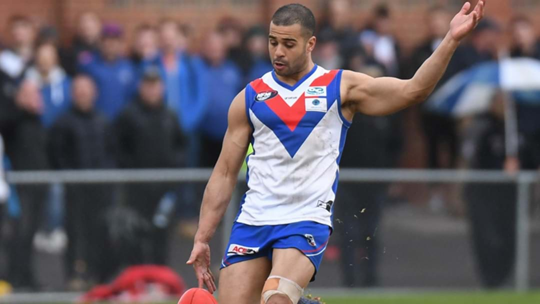 Ahmed Saad Kicks A Bag Of 10 In A Local Footy Final