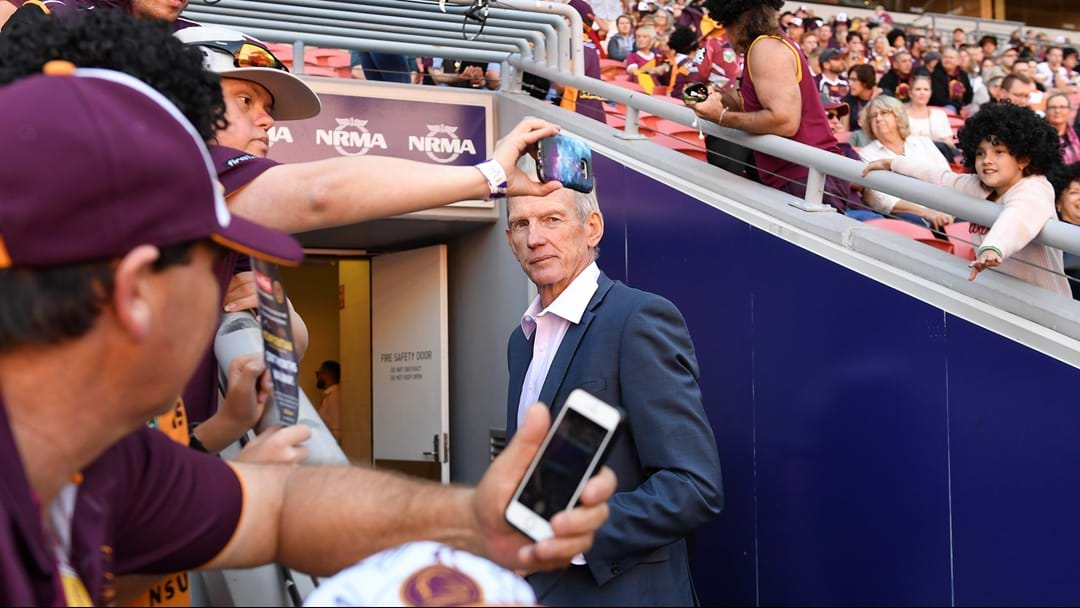 """He Doesn't See Himself Coaching There"": Peter Badel On What's Next For Wayne Bennett"