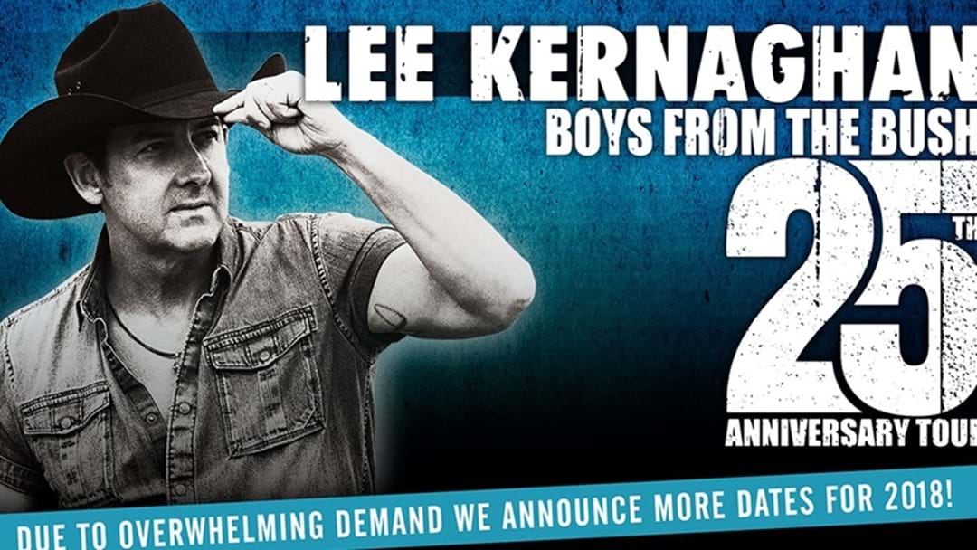 "Lee Kernaghan Announces Final 2018 Tour Dates: 25th Anniversary ""Boys From the Bush Tour"""