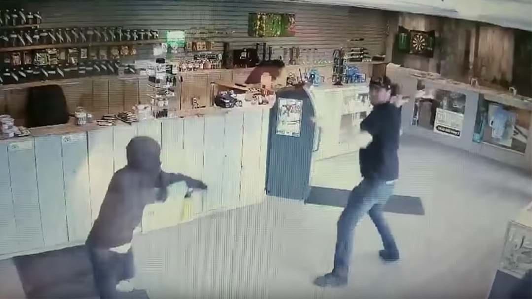 WATCH: Worker At Cannabis Dispensary Fought Of Armed Thieves With A Giant Bong
