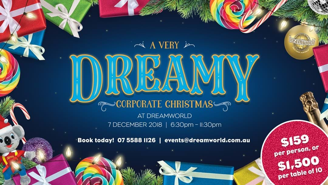 "Dreamworld's ""A Very Dreamy Corporate Christmas"""