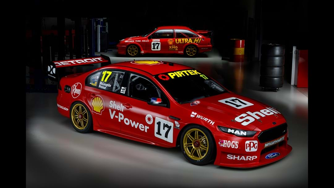 Supercars Go Old School With Throwback Liveries