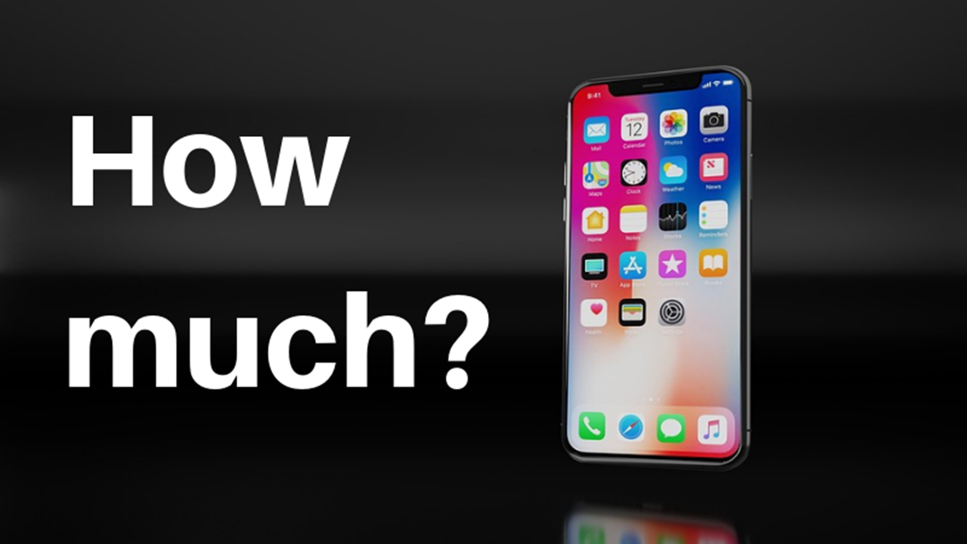 How Much Is The New iPhone X?
