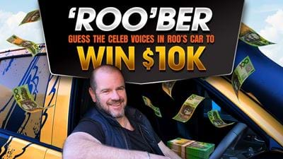 Guess The Celeb Voices In Roo's Car & Win $10K!