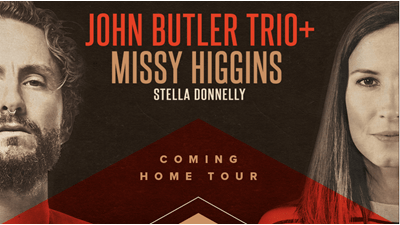 John Butler Trio Announces History-Making Australian Tour