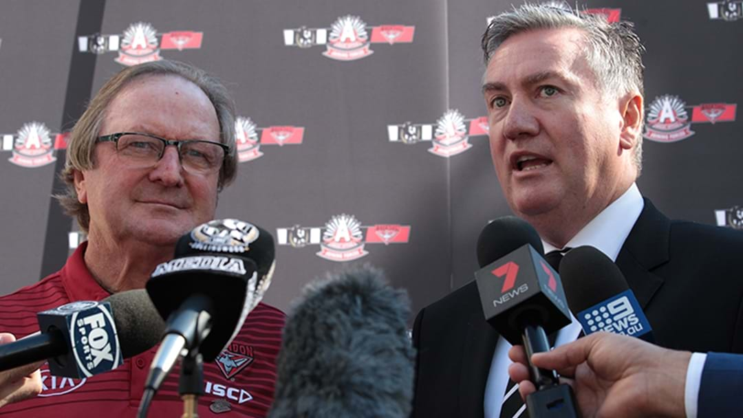 Eddie McGuire's Brilliant Reply To A Dig From Kevin Sheedy