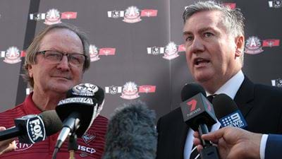 Eddie McGuire's Brilliant Reply To Kevin Sheedy!