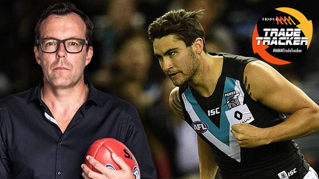 LISTEN | Damian Barrett Says That Chad Wingard Has Been Talking To Other Clubs